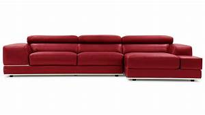 Cheap leather sectionals 2 van dyke sectional red for Cheap red leather sectional sofa