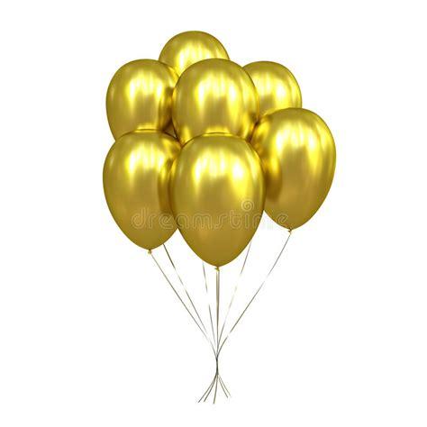baloes dourados foto de stock ilustracao de dourados
