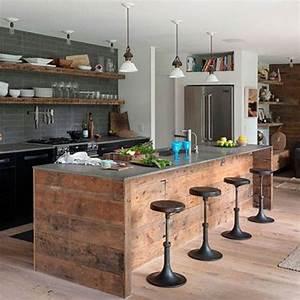Plan De Travail Pour Bar : plan de travail cuisine en 71 photos id es inspirations ~ Dailycaller-alerts.com Idées de Décoration