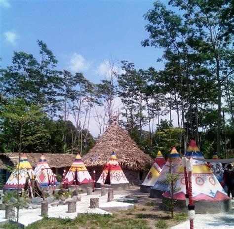 lokasi  rute menuju kampung indian kediri info tempat