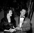 Robert Mitchum and wife Dorothy attend an event in Los ...