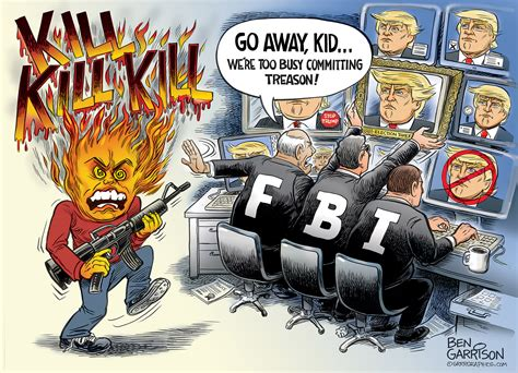 FBI Fail- Original Cartoon - Grrr Graphics