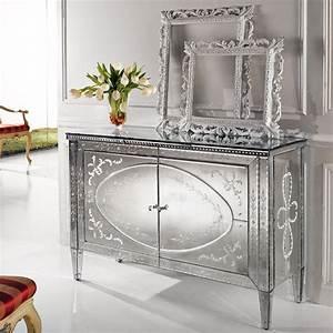 Buffet Avec Miroir : transparents et miroirs meubles sur mesure hifigeny ~ Teatrodelosmanantiales.com Idées de Décoration