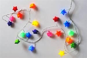 Petite Guirlande Lumineuse : pliage toile en papier ~ Teatrodelosmanantiales.com Idées de Décoration