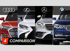 2018 Audi A8 Vs Mercedes S Class Vs BMW 7 Series Vs Lexus