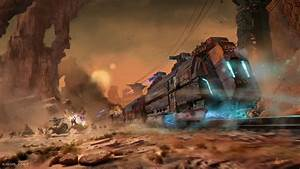 Indian Attack on a Levitation Train | Sci-Fi Western ...