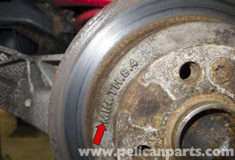 mini cooper  brake pad  rotor specification checking