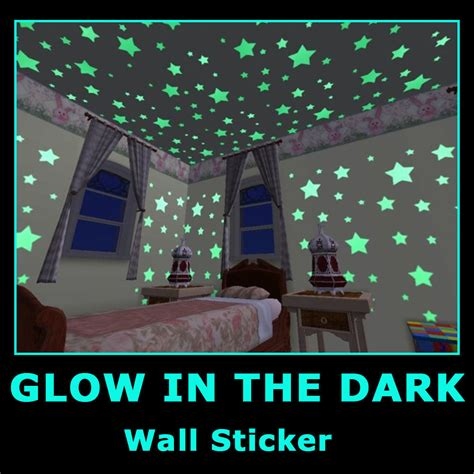 Glow In The Bedroom by Baby Room Glow In Children Bedroom Deco Wall Stickers