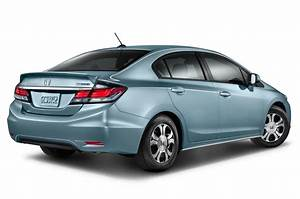 Honda Civic Hybride : 2014 honda civic hybrid rear three quarters photo 8 ~ Gottalentnigeria.com Avis de Voitures