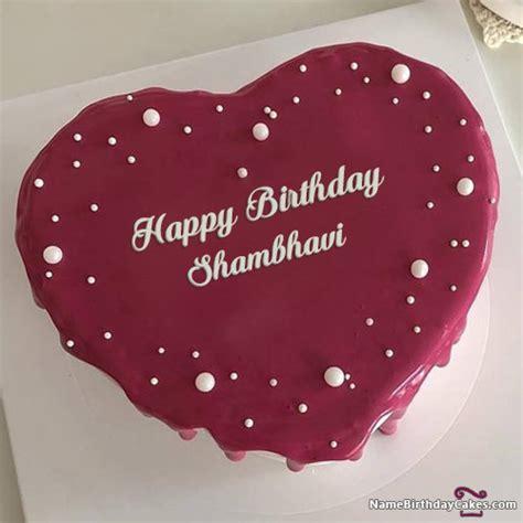 happy birthday shambhavi cakes cards wishes