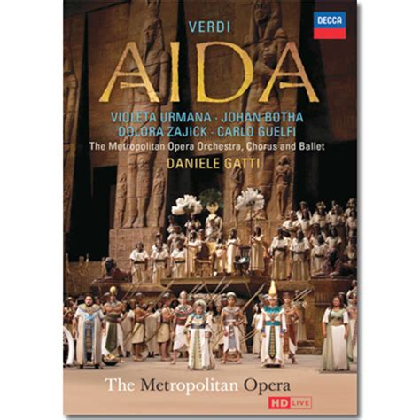 aida   hd  dvd dvds met opera shop