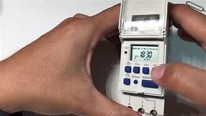 Digital Timer Switch Program