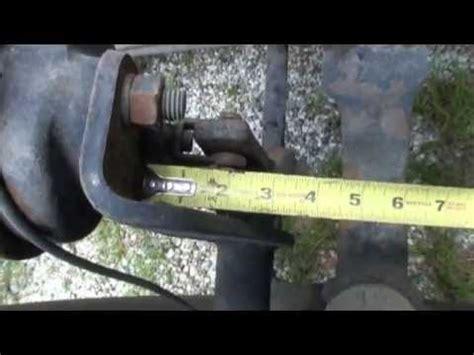 adjusting air brakes youtube