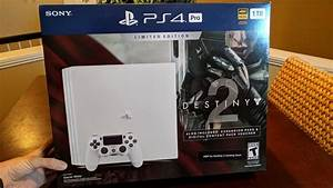 Unboxing a LIMITED EDITION PS4 PRO!! Destiny 2 Console ...