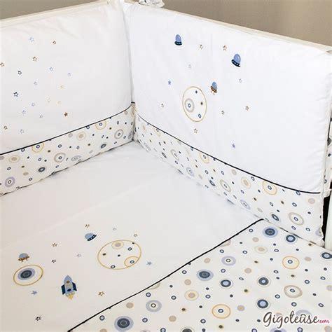chambre complete pour bebe garcon tour de lit bébé garçon cosmos accessoire lit bébé pony