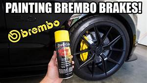 Easiest Way To Spray Paint Brembo Calipers Yellow