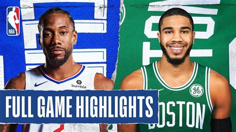 CLIPPERS at CELTICS | FULL GAME HIGHLIGHTS | February 13 ...