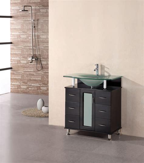 30 Inch Modern Single Sink Vanity in Espresso UVDE015A30
