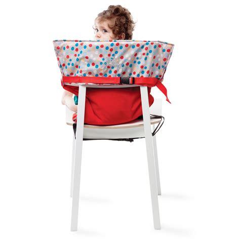 chaise nomade babytolove chaise nomade de babytolove sièges de table aubert