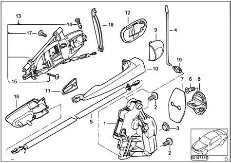 Bmw Door Lock Actuator Wiring Diagram by Original Parts For E46 320d M47 Touring Bodywork Door