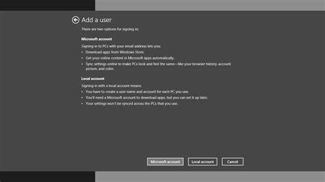 create account how to create new accounts in windows 8 1