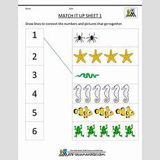 Free Printable Math Worksheets For Kindergarten Chapter #1 Worksheet Mogenk Paper Works