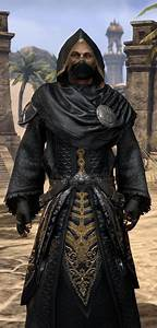 ESO Fashion Black Hand Robe