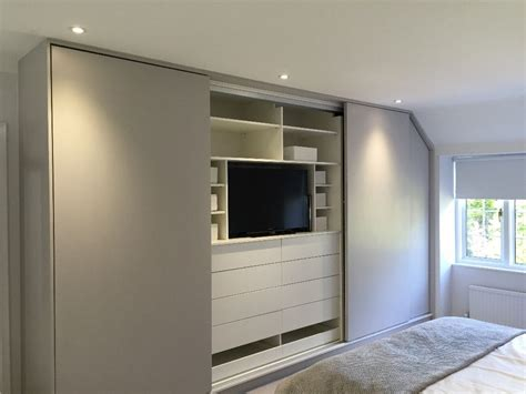 Large Bedroom Wardrobes by Loft Room Fitted Wardrobes Florence Range Home Ideas In