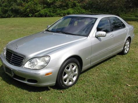 Find Used 2004 Mercedes S430 4matic, Silver W/black
