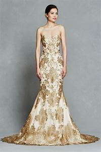 14 gorgeous white and gold wedding dress getfashionideas for White and gold wedding dresses