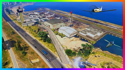 Gta 5 Exploring New Airports, Military Air Bases & Private