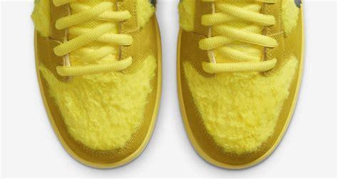 grateful dead nike sb dunk opti yellow sneaker