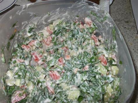 arabischer salat rezept mit bild kochbarde
