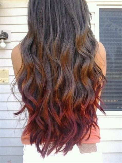 Colors To Dye Brown Hair Tips by Best 25 Hair Tips Dyed Ideas On Pastel Hair