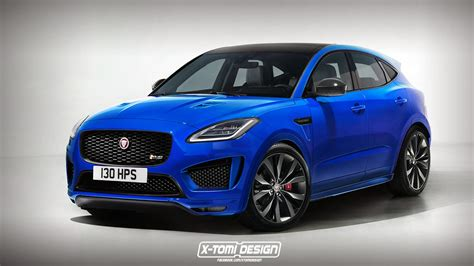 Jaguar Epace Rendered In Hot Rs Trim