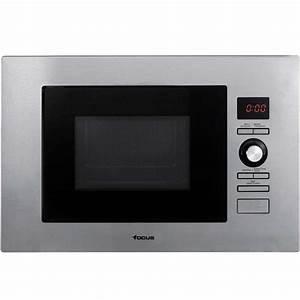 Micro Onde Grill Encastrable : micro onde grill encastrable focus f23x 20l inox 39 cm ~ Dailycaller-alerts.com Idées de Décoration