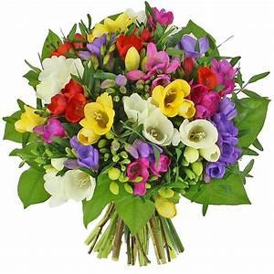 Bouquet De Fleurs : livraison bouquet de freesias bouquet de fleurs foliflora ~ Teatrodelosmanantiales.com Idées de Décoration
