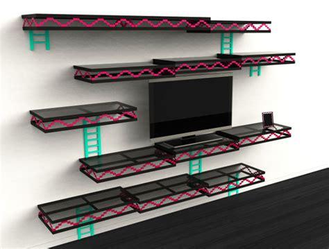 Donkey Kong Inspired Wall Shelves Unfortunately Not For