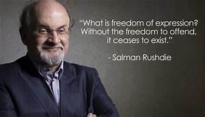 Salman Rushdie on the vital importance of free speech ...