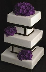 Modern square wedding cake   Cakes/ Cake Decorating ...