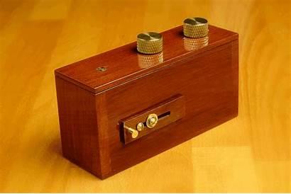 Pinhole Camera Wood Simple Shutter 35mm Opening