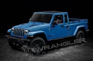 Jeep Wrangler Pick Up : 2019 jeep wrangler pickup truck rendered ~ Medecine-chirurgie-esthetiques.com Avis de Voitures
