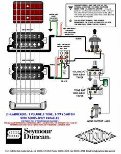 2 Humbuckers Coil Split Wiring Diagram For  2  Free Engine Image For User Manual Download