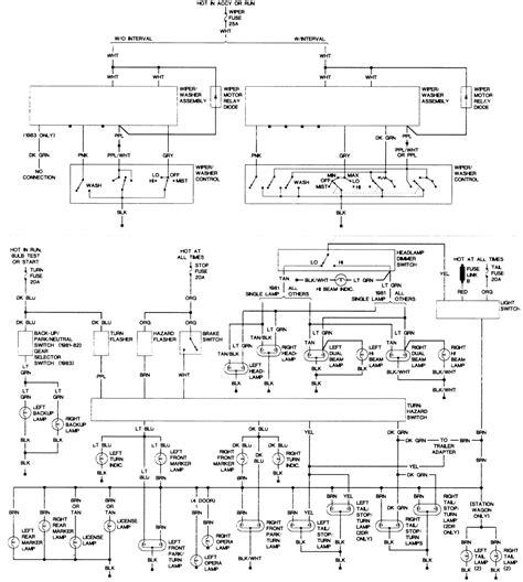 1987 Oldsmobile Cutlas Ciera Wiring Diagram by Fuse Panel Diagram Fixya
