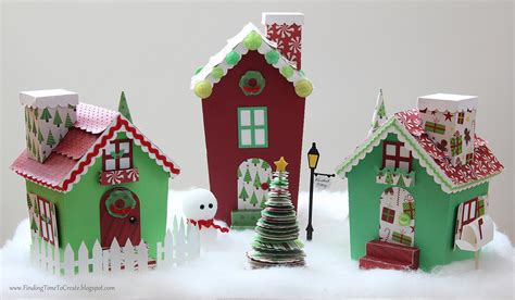 christmas village trees silhouette template village full view front christmas village designed by me