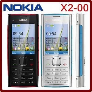 X2 Original Nokia X2 00 Bluetooth Fm Java 5mp Unlocked