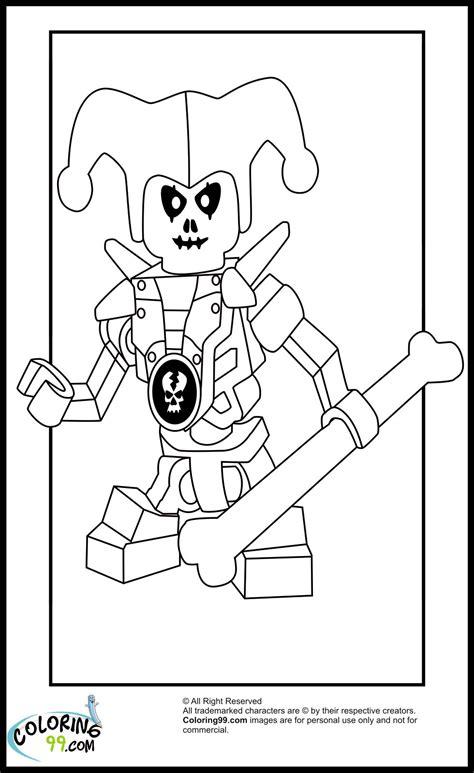 ninjago krazi coloring pages