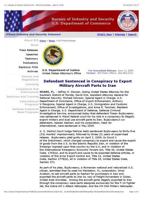 u s bureau of industry and security doj press release april 9 2009 by daniel mutomba issuu