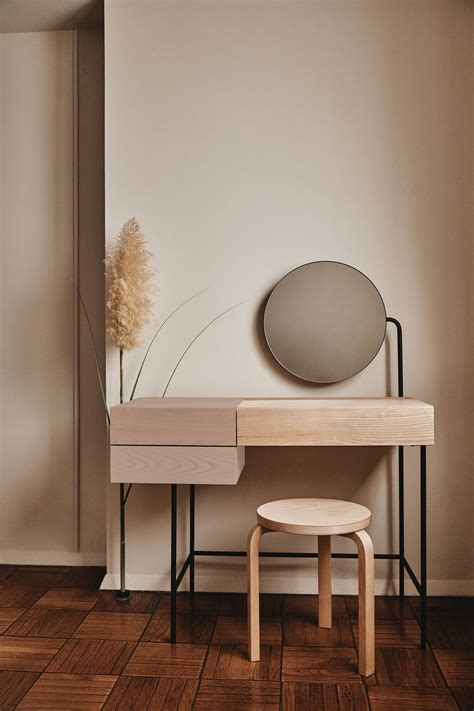 minimalist designer vanity desk   knew