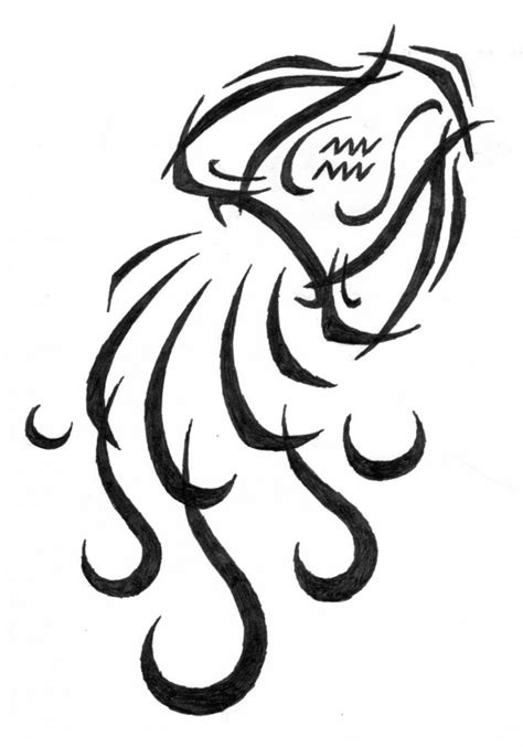 Aquarius Tattoos Designs, Ideas and Meaning | Tattoos For You